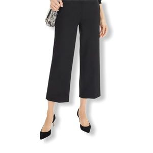 J Crew Favourite Fit Wide Leg Cropped Chinos